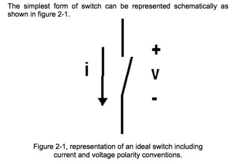 switch schematic symbols