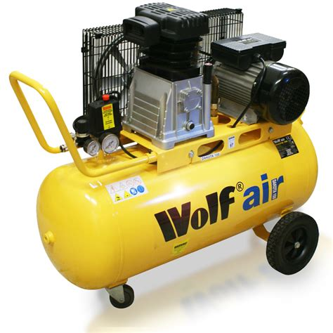 100 Cfm Air Compressor by Wolf Sioux 50 Litre Air Compressor With 13pc Pro Spray Kit