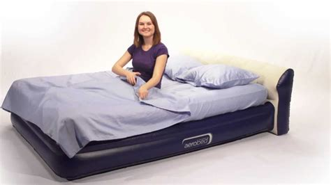 aerobed queen headboard airmattress com aerobed headboard queen air mattress
