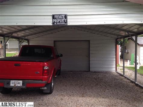 Shed With Carport Attached by Armslist For Sale 1 Yr Carport With Factory