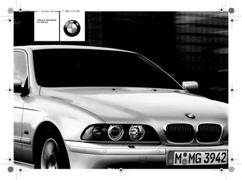 car repair manuals online free 2002 bmw 530 parental controls 2002 bmw 530i repair manual