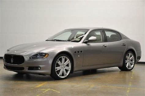 Maserati Quattroporte Msrp by Buy Used 11 Quattroporte S Lowmiles 20wheels