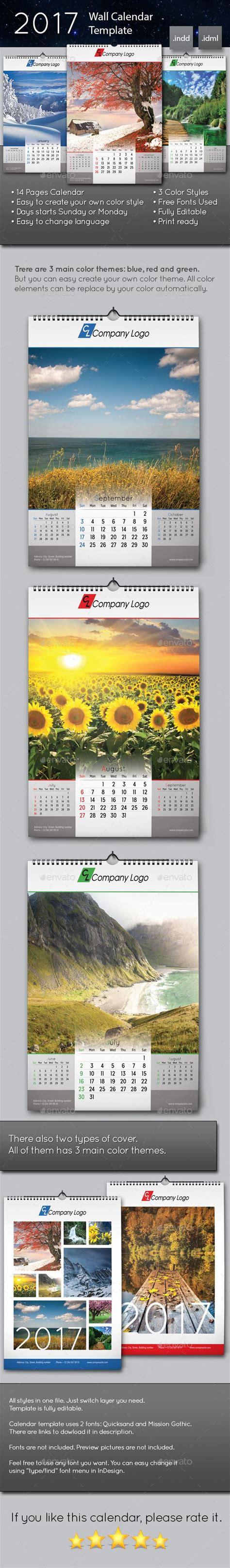 Wall Calendar Template Indesign 1000 Ideas About Calendar Templates On