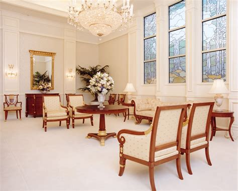 celestial room the trumpet lds temple glass trees