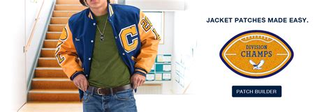 Award Patches Letter Jackets varsity jackets custom chenille patches and school awards