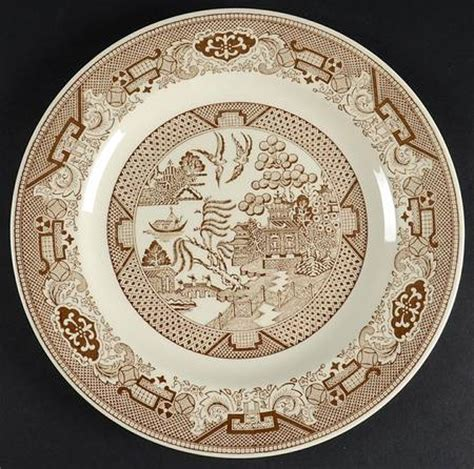 brown willow pattern royal usa brown willow at replacements ltd