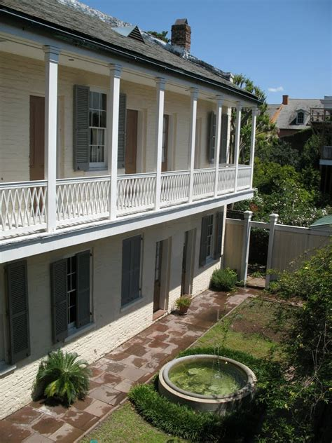 Gallier House New Orleans by Panoramio Photo Of Gallier House 1857 Courtyard