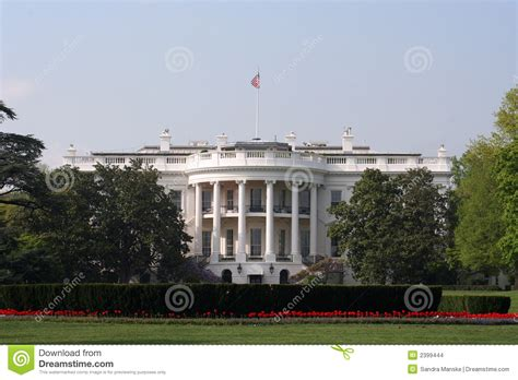 white house side south side white house stock images image 2399444