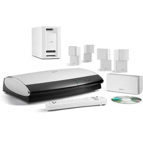 bose lifestyle 38 series iv dvd home entertainment system