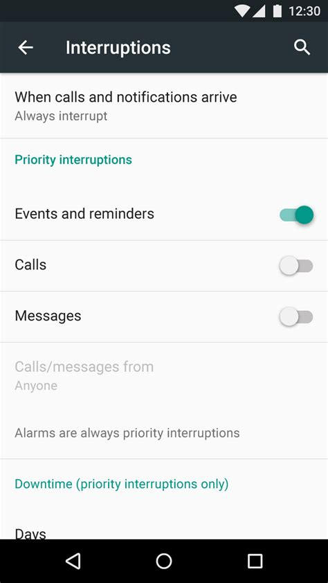 android pattern settings settings patterns material design guidelines