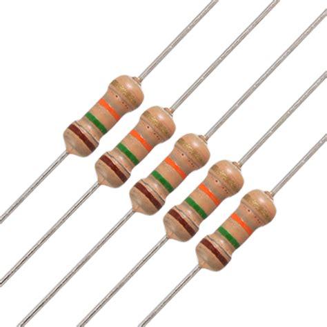 Resistor 1 5k Ohm 1 50 x 1 4w 250v 1 5k ohm 1k5 axial carbon resistors