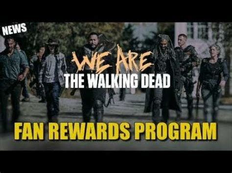 the walking dead fan rewards the walking dead fan rewards program information our