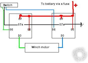 winch motor wiring diagram impremedia net