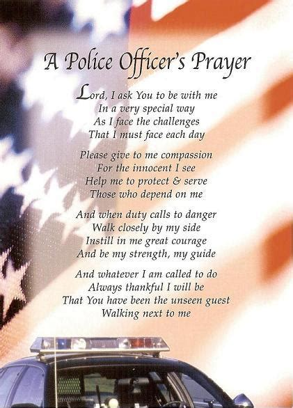 officer prayer so that i may come home to my