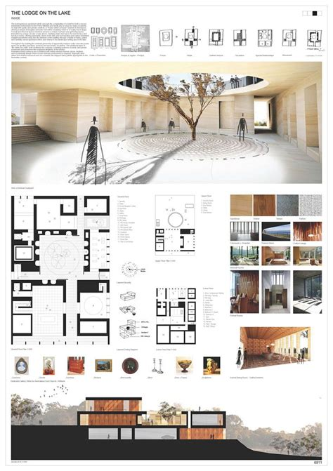 architectural layouts interior design presentation design editorial
