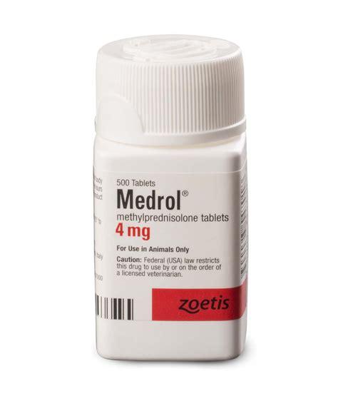 Methylprednisolon 4mg medrol zoetis us