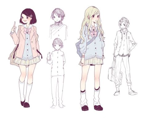 fashion design referenced kawaii casual outfits drawing clothes pinterest