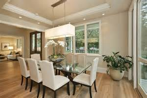 Transitional Dining Room by Transitional Dining Room Decor Decosee Com