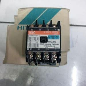 Kontaktor Hitachi H10c 110vac Murah jual kontaktor magnetic hitachi h10c 110v harga murah jakarta oleh hargo mandiri