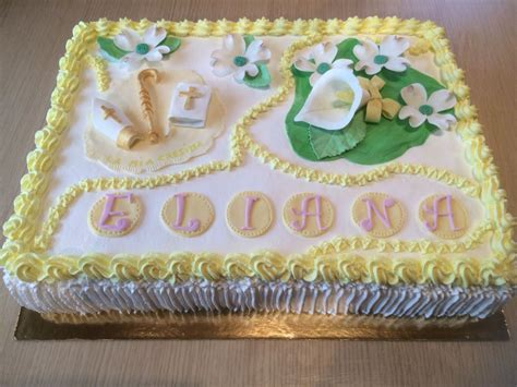 fiori in pdz torta con simboli della cresima e fiori in pdz le mie