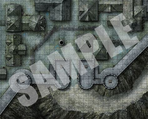 paizo pathfinder flip mat city gates