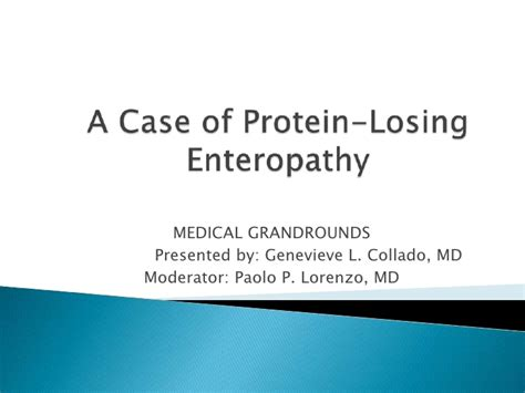 protein losing enteropathy in dogs protein losing enteropathy by geneveive collado 6 10 the
