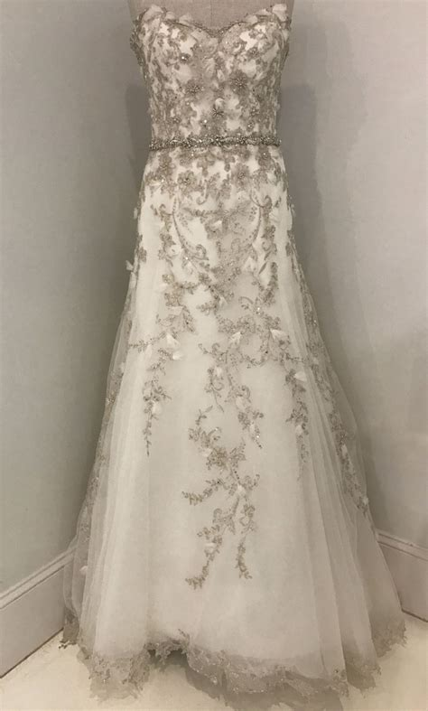 Dress Elita maggie sottero elita 900 size 10 sle wedding dresses