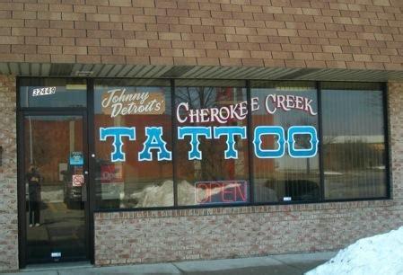 cherokee creek tattoo creek detroit a list