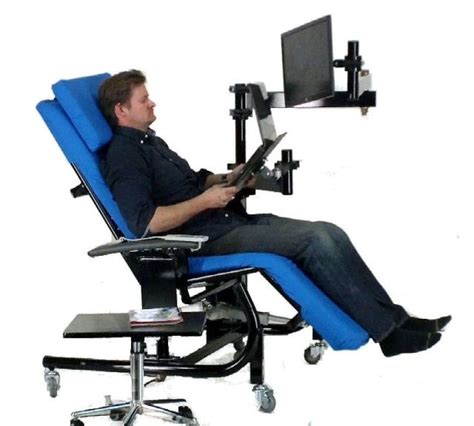 Reclined Workstation by Zero Gravity Chairs