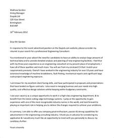 Cover Letter For Engineering Application by Sle Nursing Application Cover Letters Take