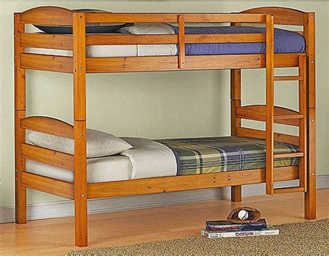 Bedroom Furniture Bunk Beds Bunk Bed Wood Bed Bedroom Furniture Ladder Loft Boys Pine Ebay