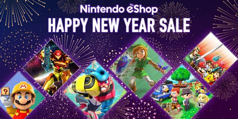 psn new year sale nintendo eshop sale happy new year sale news nintendo