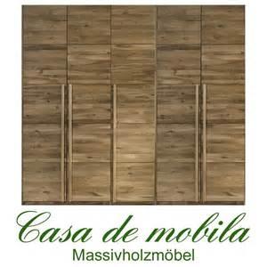 kleiderschrank massivholz eiche echtholz kleiderschrank eiche massiv natur ge 246 lt front6