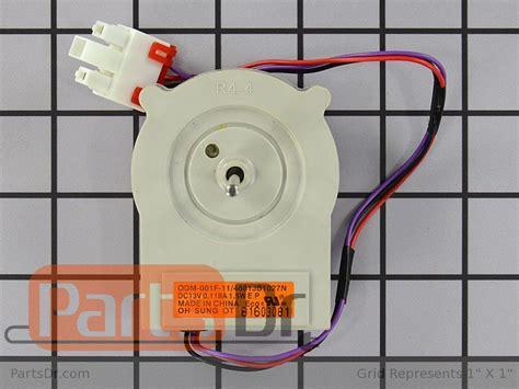 lg refrigerator condenser fan motor 4681jb1027n lg refrigerator evaporator fan motor parts dr