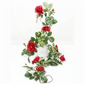 Topiary Box Balls - wild rose garland red