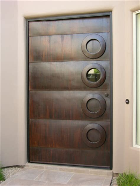 Contemporary Metal Front Doors Steel Door Contemporary Front Doors By Kevin Caron Studios