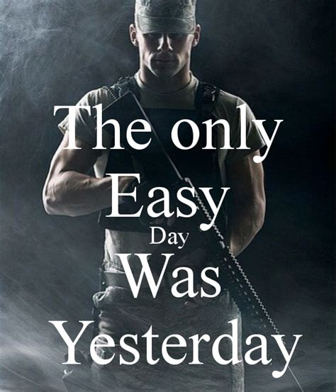 tattoo the only easy day was yesterday the only easy day was yesterday poster hiddewees12