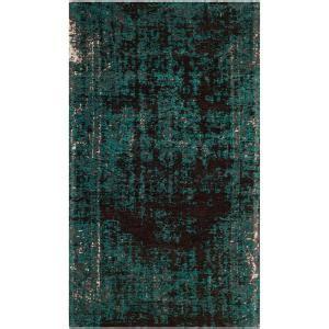 safavieh classic vintage tealbrown  ft   ft area rug