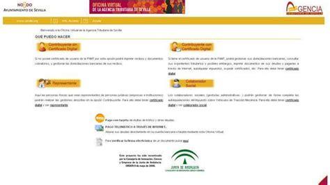 oficina virtual ayuntamiento de sevilla ya es posible pagar multas y recibos a trav 233 s de la red