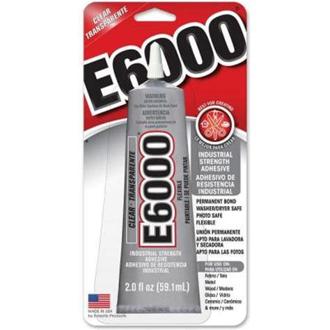 e6000 2 fl oz clear adhesive 237032 the home depot