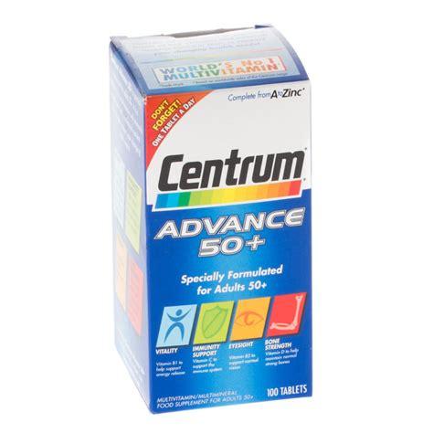 Centrum Advance 100tab centrum advance 50 100 tablets vitamins chemist direct
