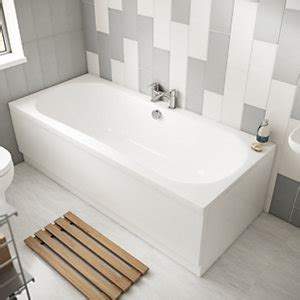 Double Ended Baths Baths Wickes Co Uk Wickes Bathroom Accessories