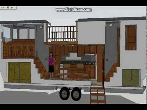 Quot The Venture Quot 30 Ft Model Sketchup Tiny House Design Tiny House Plans For A Gooseneck Trailer