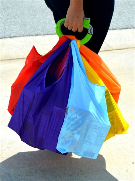One Shoping One Trip Grip one trip grip shopping bag carriers