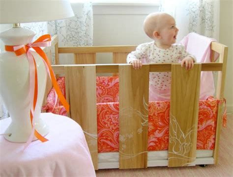 Diy Mini Crib by Woohoo Diy Crib Of Takes Design Sponge Bronze Types
