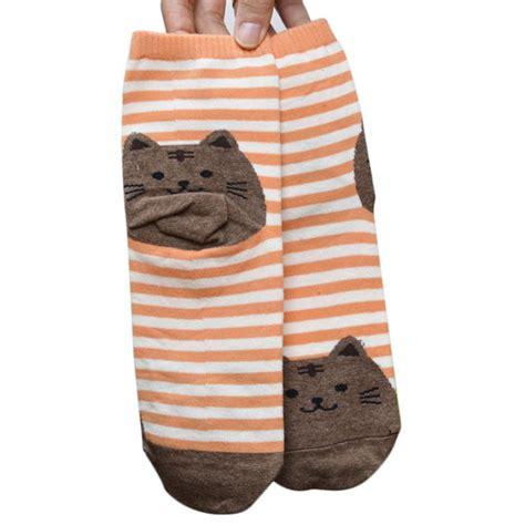 sock cat clothes newly design cat socks striped pattern