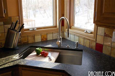 stainless steel sink with cutting board stainless steel sinks that hide scratches and water spots