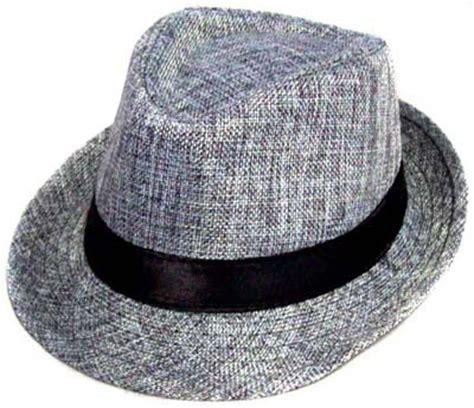 Sailor Grey Fedora Hat boys gray fedora hat