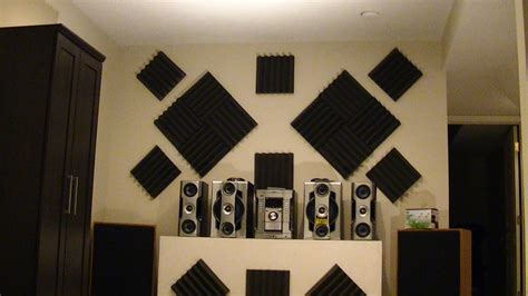 room in minnesota that blocks sound how to hang acoustic foam tiles on wall the easy way