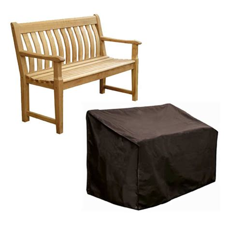 3 seater bench cover bosmere storm black 3 seater bench cover w163 x d66 x h89cm